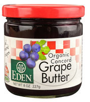 Eden Foods Organic Concord Grape Butter 8 oz