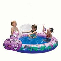 Manley Banzai Spray N Spalsh Kids Hippo Pool