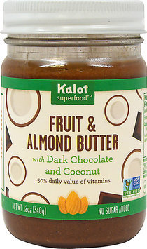 Kolat Superfood Fusions Fruit and Almond Butter Dark Chocolate Coconut 12 oz - Vegan