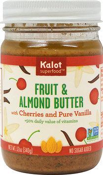 Kolat Superfood Fusions Fruit and Almond Butter Cherry Vanilla Almond 12 oz - Vegan