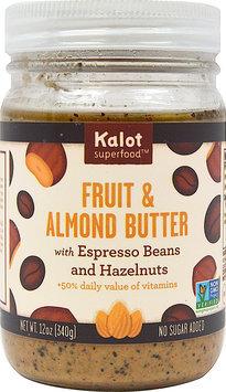Kolat Superfood Fusions Fruit and Almond Butter Espresso Hazelnut 12 oz - Vegan