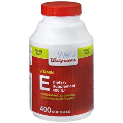 Walgreens Vitamin E 400IU