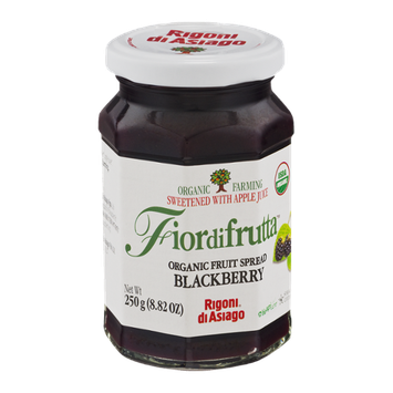 Fiordifrutta Organic Fruit Spread Blackberry
