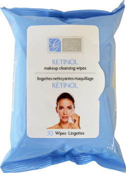 Global Beauty Care Retinol Makeup Cleaning Wipes