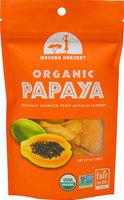 Mavuno Harvest Organic All Natural Dried Papaya 2 oz