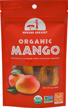 Mavuno Harvest - 100 Organic All Natural Dried Fruit Mango - 2 oz.