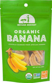 Mavuno Harvest - 100 Organic All Natural Dried Fruit Banana - 2 oz.