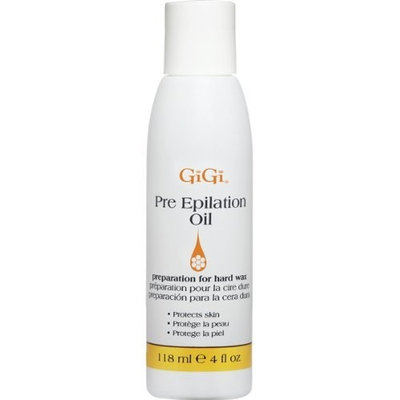 Gigi Pre-Epilation Oil, 4 Ounce