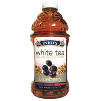 Inko's White Iced Tea, Blueberry, 64-Ounce (Pack of 8)