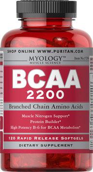 Myology BCAA 2200-120 Softgels
