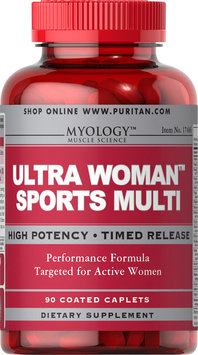 Myology Ultra Woman Sports Multi Vitamin-90 Caplets