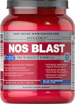 Precision Engineered NOS Blast Blue Raspberry