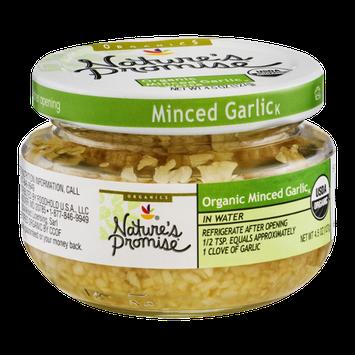 Nature's Promise Organic Minced Garlic