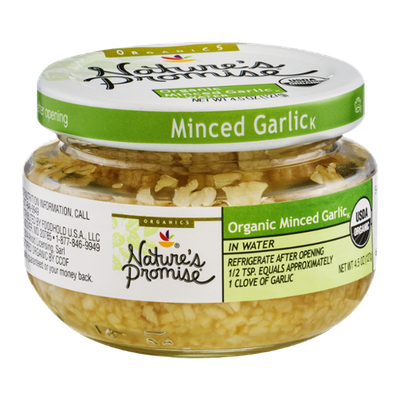 Nature's Promise Organic Minced Garlic