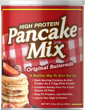 Puritan's Pride 3 Units of High Protein Buttermilk Pancake Mix-2 lbs-Powder