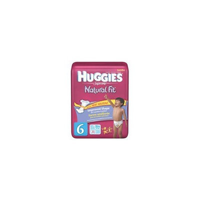 Kimberly-clark Huggies Supreme Diapers Step 6 (Over 35 Lbs) Natural Fit Jumbo Pack - 22 Per Pack, 4 Packs