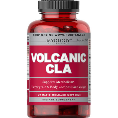 Myology Volcanic - Inferno CLA-120 Softgels