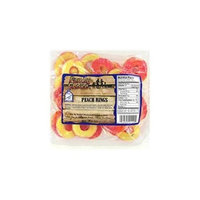 Family Choice 9 Oz Peach Ring 1129 by Rucker's Candy