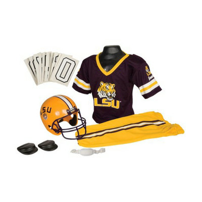 Franklin Sports Lsu Deluxe Uniform Set - Small