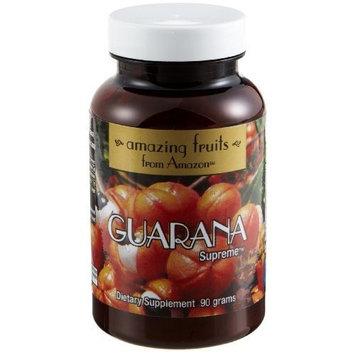 Amazing Fruit From Amazon Guarana Supreme Dietary Supplement
