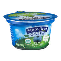 Stonyfield Organic Greek Nonfat Yogurt Blueberry