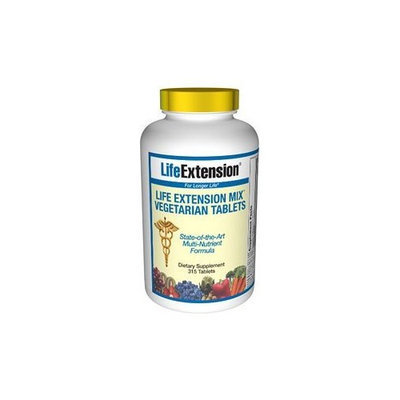 Life Extension Mix Vegetarian Tablets, 315-Count