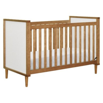Babyletto Skip 3-in-1 Convertible Crib with Toddler Rail - Chestnut