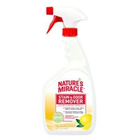 tures Miracle Nature's Miracle Lemon Scented Stain & Odor Remover, 32 fl. oz.