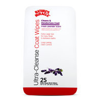 United Pet Group Nat Mirc P-5909 Ntr Mrcl Deodorize Coat Wipes 25 Pack