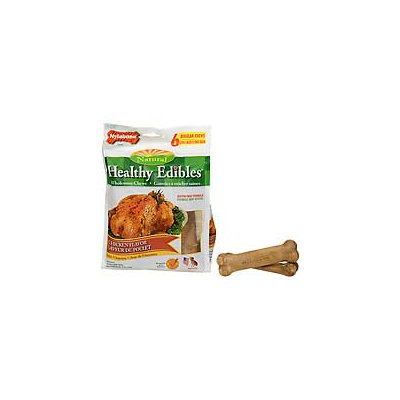 Nylabone Healthy Edible Chicken Dog Chew Regular