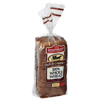 Stroehmann Dutch County 100% Whole Wheat Bread