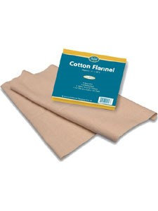 Baar Product's Cotton Flannel for Castor Oil 1 pack by Baar Products