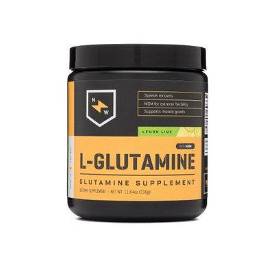 New Whey Nutrition L-Glutamine Post Workout, Lemon Lime, 60 Servings