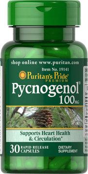 Puritan's Pride 2 Units of Pycnogenol 100 mg-30-Capsules