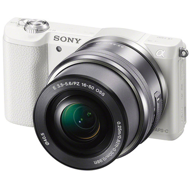 Sony a5100 Mirrorless Camera with 24.3 Megapixels and 16-50mm Lens Included