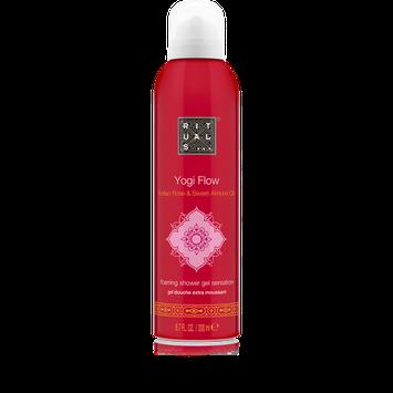 RITUALS Yogi Flow Indian Rose & Sweet Almond Oil Foaming Shower Gel
