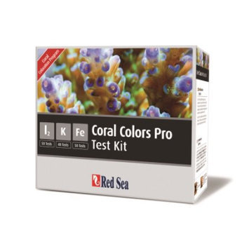 Red Sea Fish Pharm Reef Color Pro Test Kit
