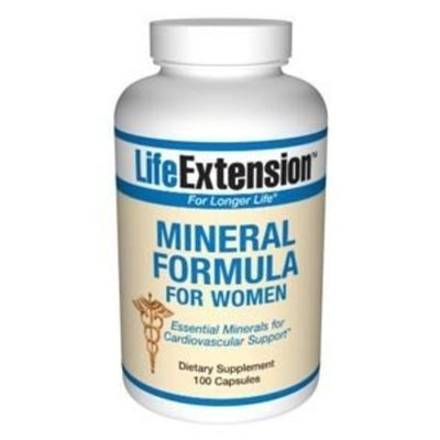 Life Extension Mineral Formula for Women Capsules, 100-Count