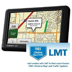 Garmin nuvi 1490LMT Bundle with Lifetime Maps & Traffic Updates
