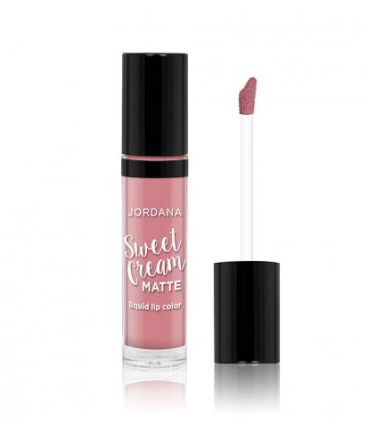 JORDANA Sweet Cream Matte Liquid Lip Color