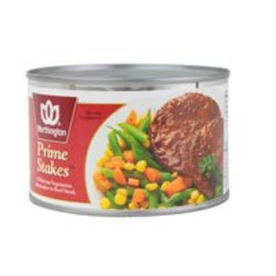 Worthington Vegetarian Prime Stakes -- 13 oz