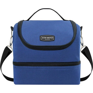 Jacki Design Urban 2 Large Compartment Lunch Bag