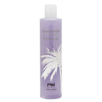 Primal Elements Coconut Water Hydrating Body Wash, French Lilac, 10 oz
