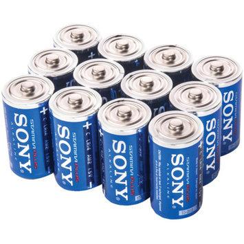 Sony SC-12BULK Stamina Plus Alkaline Bulk Batteries, 12pk
