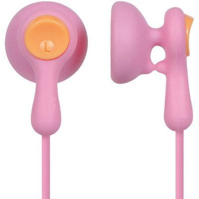Panasonic RP-HV41-P Stereo Eardrops Earphones, Pink/Orange