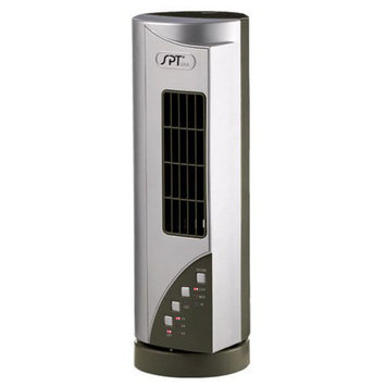 Spt SPT Mini Tower Fan with Ionizer Silver