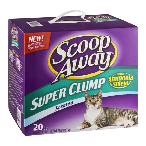 Scoop Away Cat Litter Scented