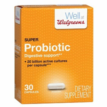 Walgreens Super Probiotic Capsules
