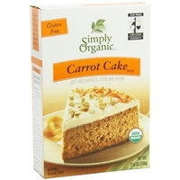 Simply Organic Organic Carrot Cake Mix (2x11.64 OZ)