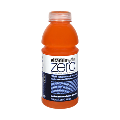 vitaminwater Zero Drive Blood Orange Mixed Berry